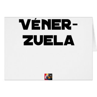 VÉNER-ZUELA - Word games - François City Card