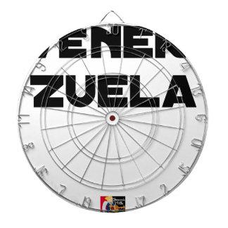 VÉNER-ZUELA - Word games - François City Dartboard