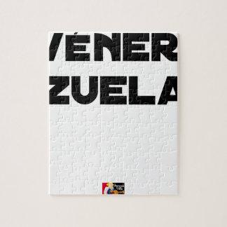 VÉNER-ZUELA - Word games - François City Jigsaw Puzzle