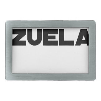VÉNER-ZUELA - Word games - François City Rectangular Belt Buckle
