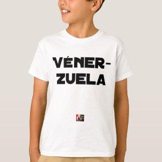 VÉNER-ZUELA - Word games - François City T-Shirt