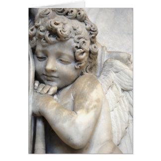 Venetian Angel Card