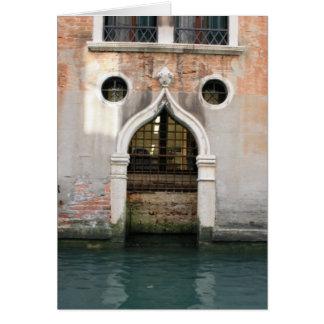 Venetian Arch Card