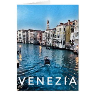 Venetian Blank Greeting Card