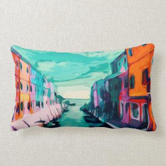 Venetian Canal Lumbar Pillow