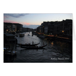 Venetian  card