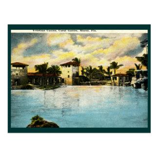 Venetian Casino, Coral Gables, FL Vintage Postcard