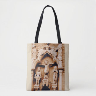 Venetian facade Good Friday image Tote Bag