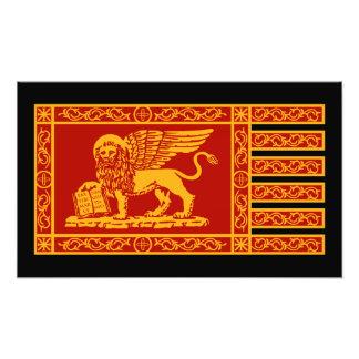 Venetian Flag Art Photo
