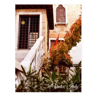 Venetian glimpse postcard