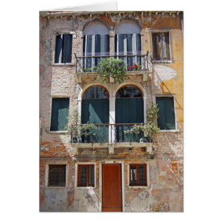 Venetian Home Card