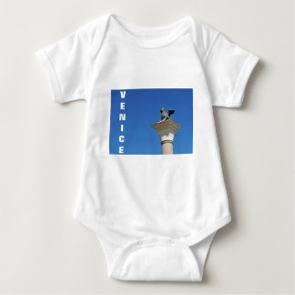 Venetian lion baby bodysuit