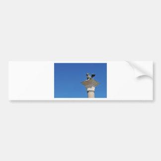 Venetian lion bumper sticker
