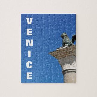 Venetian lion jigsaw puzzle