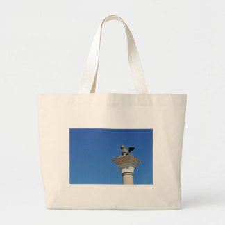 Venetian lion large tote bag