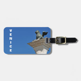 Venetian lion luggage tag