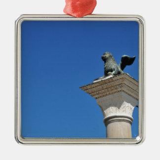 Venetian lion metal ornament