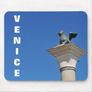 Venetian lion mouse pad