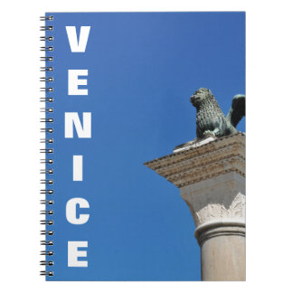 Venetian lion notebook