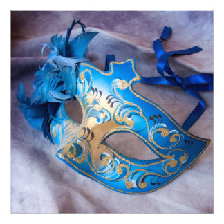 Venetian Mask 3 Photographic Print