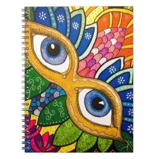 Venetian mask notebook