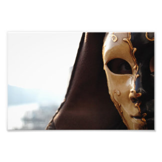 Venetian Mask Photo Art