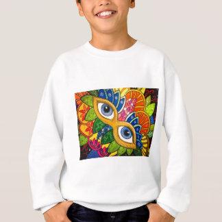 Venetian mask sweatshirt