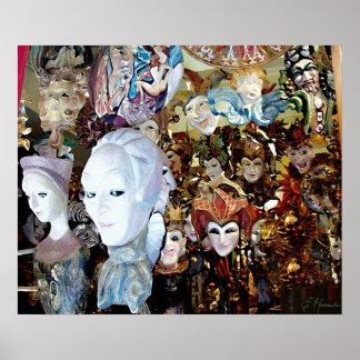 Venetian Masks 2 Poster
