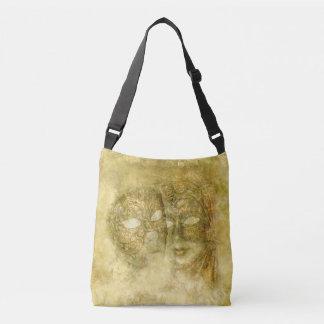 Venetian Masks Cross Body Bag