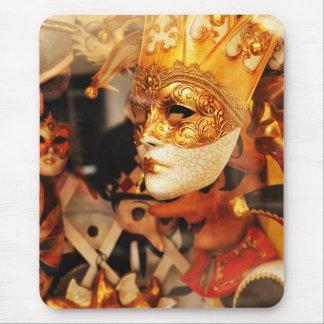 Venetian masks mouse pad
