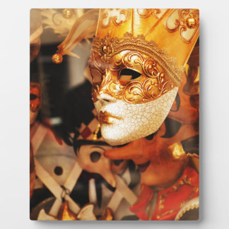Venetian masks plaque