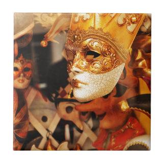Venetian masks tile