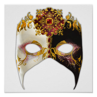 Venetian Masque: Ruby Jewel Poster