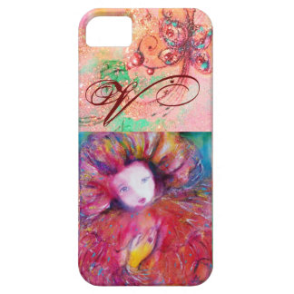 VENETIAN MASQUERADE - MASK IN RED MONOGRAM CASE FOR THE iPhone 5