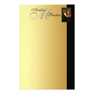 Venetian Masquerade Monogram Wedding Stationary Stationery