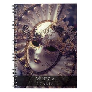 Venetian Masquerade Notebook