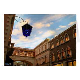 Venetian Sky Las Vegas Card