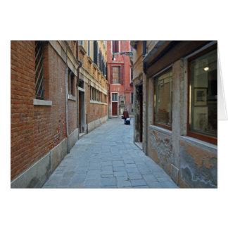 Venetian Street Card
