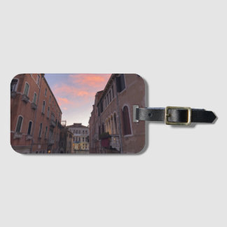 Venetian Sunset Luggage Tag