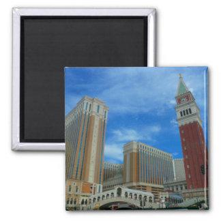 venetian vegas square magnet