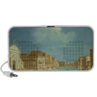 Venetian View, 18th century Travelling Speakers