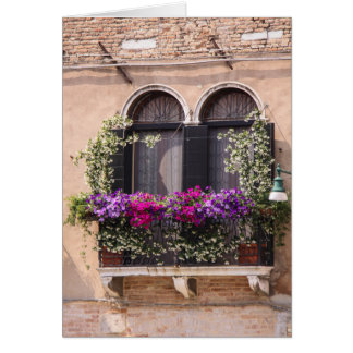 Venetian Window Notecard