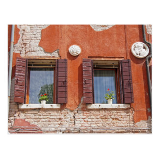 Venetian Windows Postcard