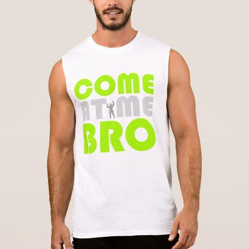 Venez à moi chemise de séance d'entraînement de Br Tee-shirts Sans Manches