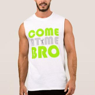Venez à moi chemise de séance d'entraînement de t-shirt sans manches
