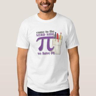 Venez au côté nerd nous avons pi tshirts