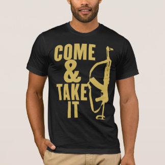 Venez et il fallez la chemise t-shirt