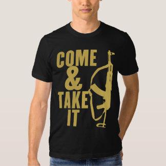 Venez et il fallez la chemise tshirts