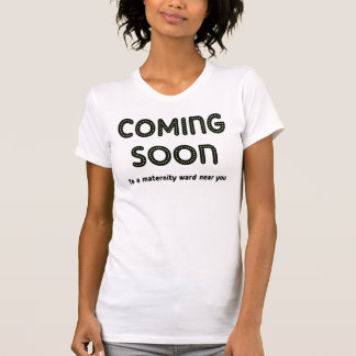 Venez T-shirt bientôt de maternité