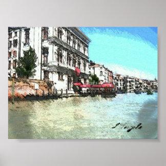 Venezia Grande Canal Poster